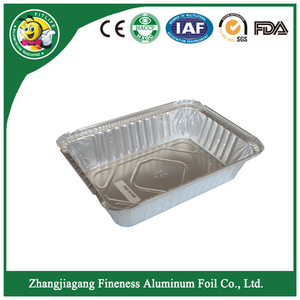 Aluminum Foil Tray with Customized Alloy