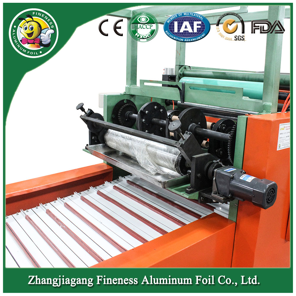Automatic Aluminum Foil Rewinding and Cutter Machine Hafa-850