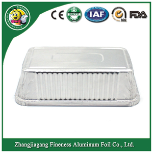 Environmentally Takeaway Food Container Aluminum Foil Container for Baking