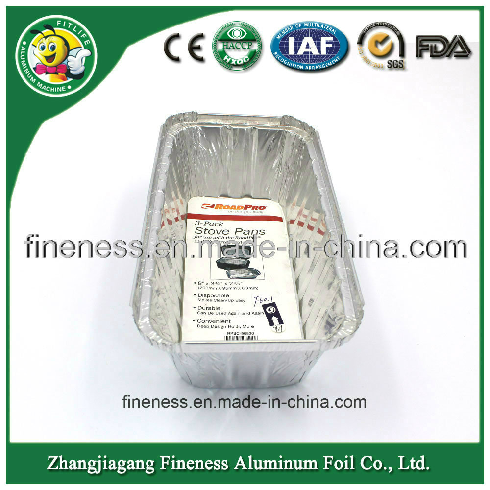 Aluminum Foil Container of Airline Take Away