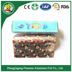 Cartoon Characterd of Household Aluminum Foil