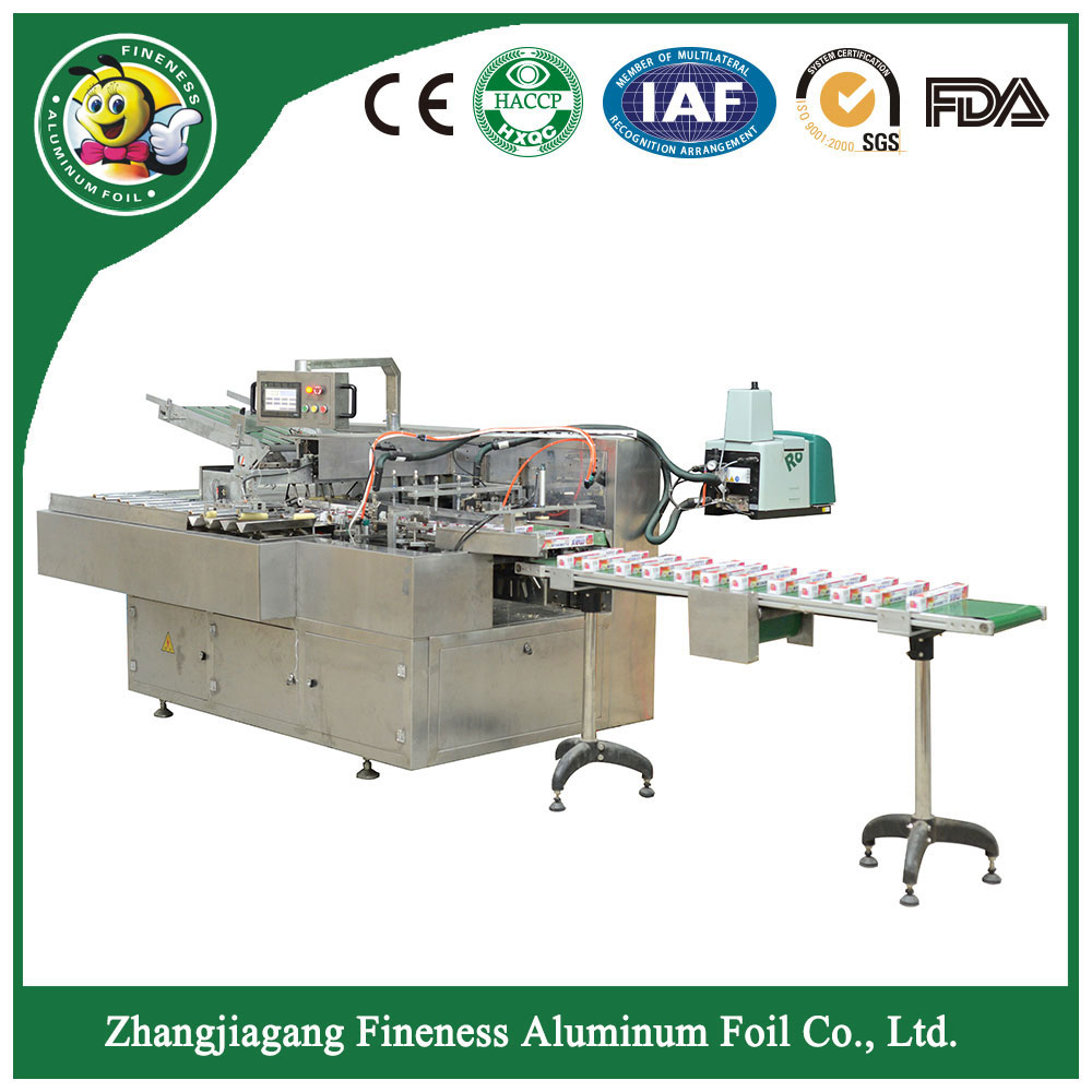 Automatic International Famous Brand of Electrical Component Boxing Machine