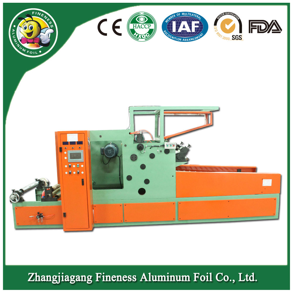 Fully Automatic Aluminium Foil Film Roll Slitting Rewinding Machine