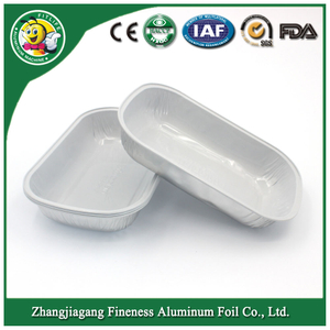 Aluminum Foil Containers for Airline Taking Food