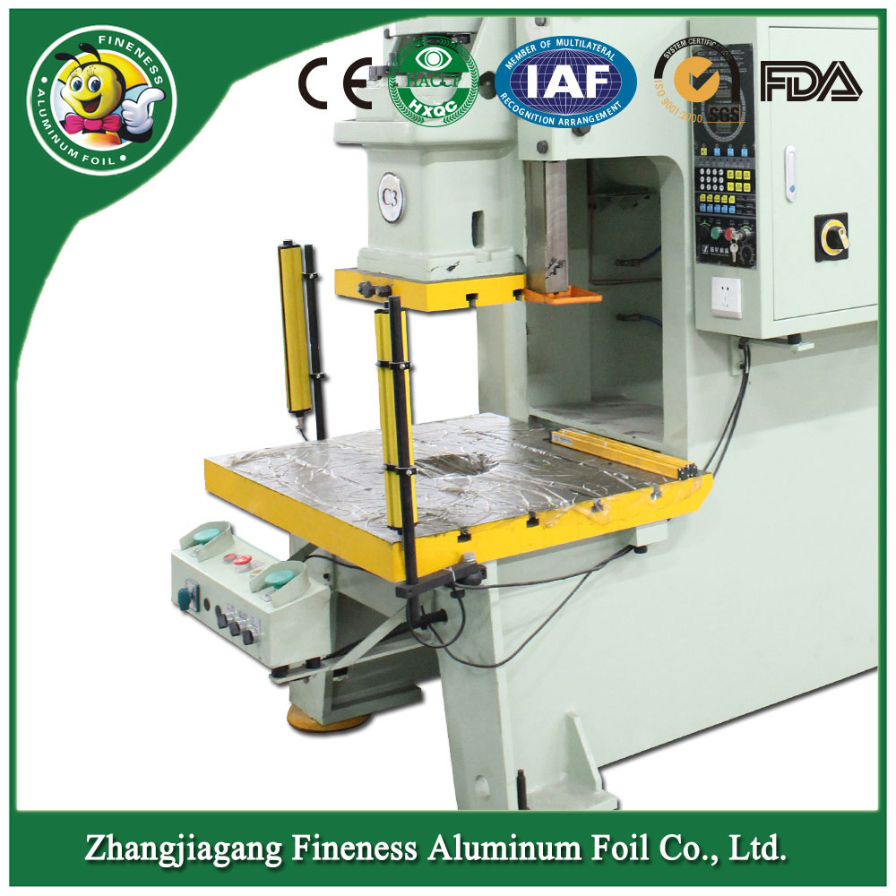 Special New Products Aluminium Foil Tray Making Machine