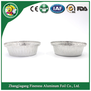 Eco-Friendly Aluminum Foil Container for Food Package