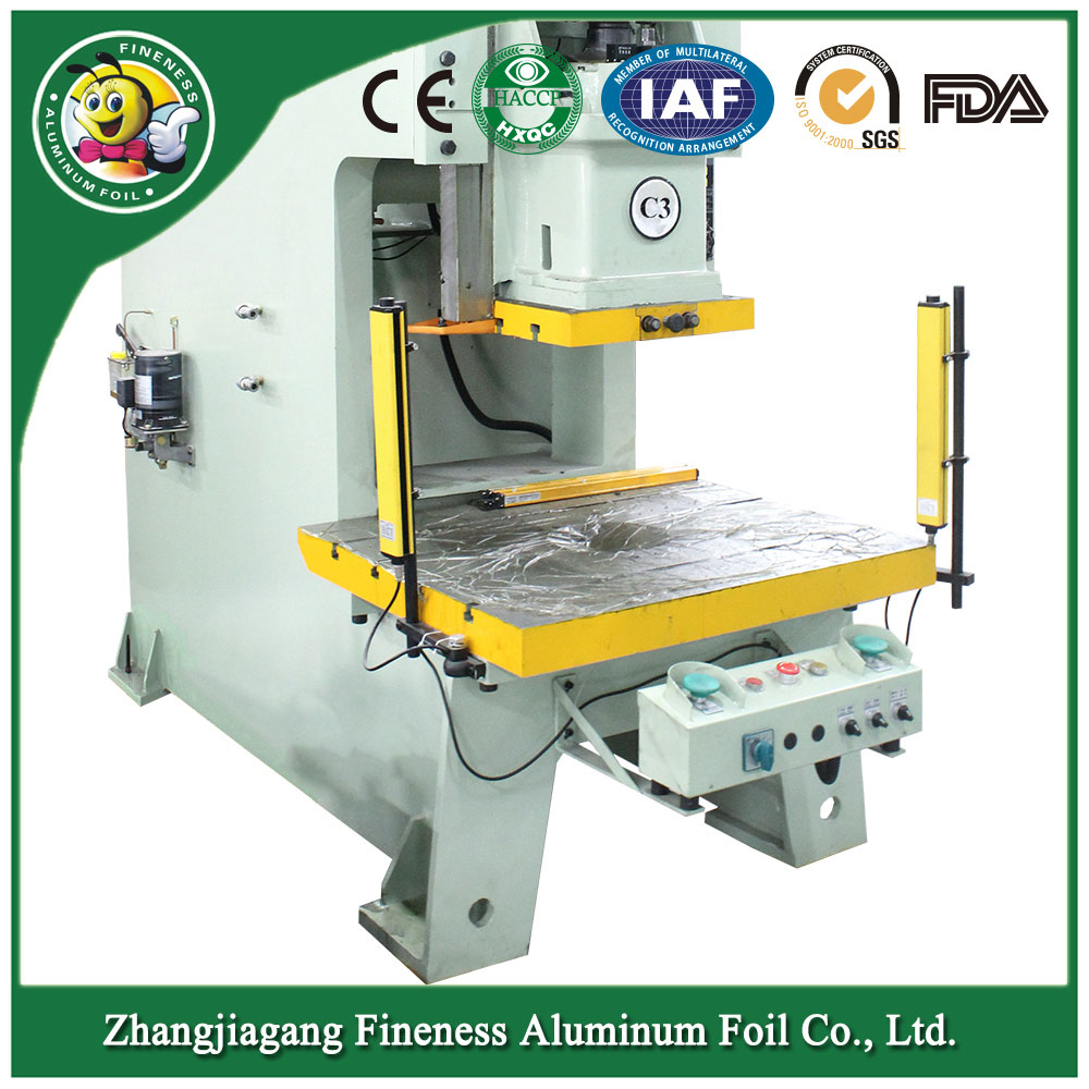 Aluminum Foil Container Machine Make