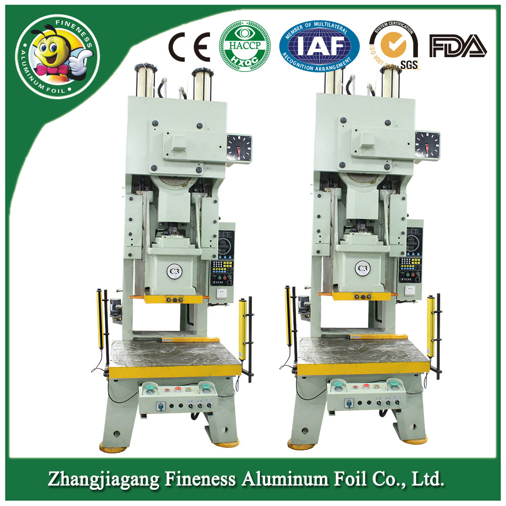 Household Aluminum Foil Container Machine
