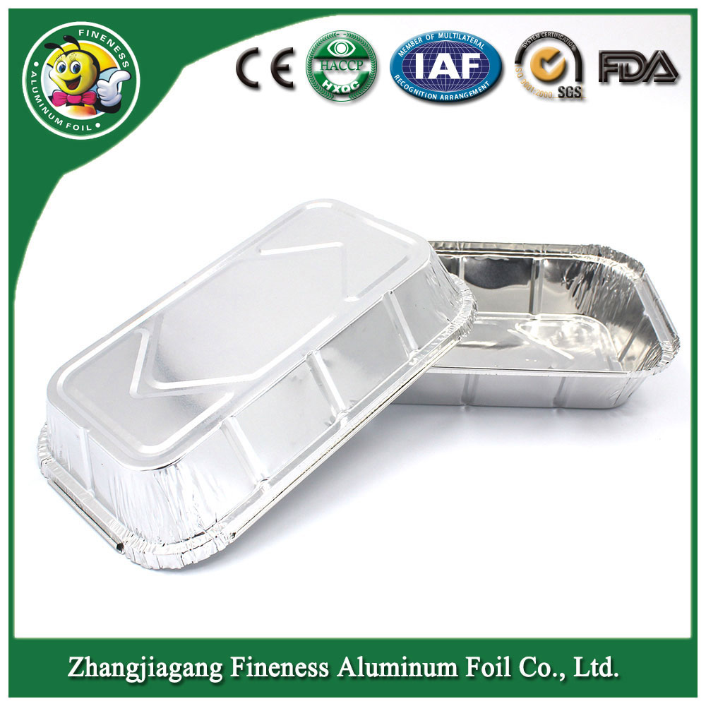 Disposable Aluminum Foil Container / Tray /Lunch Box for Food Packaging