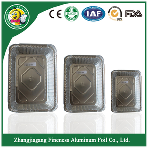 Good Quality of Disposable Foil Large Container Tray