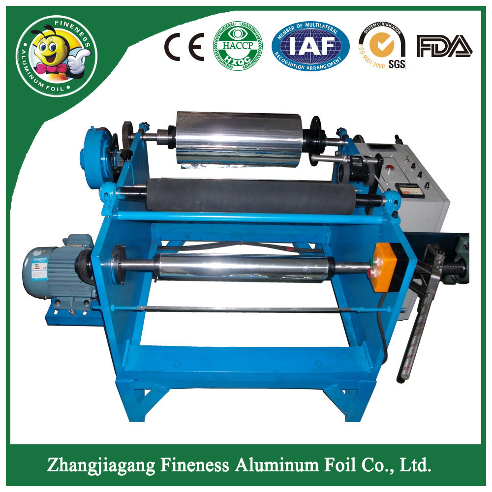 Aluminum Foil Slitting Rewinding Manual Machine